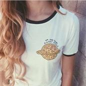 shirt,science,pizza,t-shirt,regular,pizza shirt,pizza t-shirt