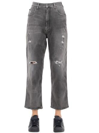 jeans boyfriend jeans denim boyfriend cotton grey