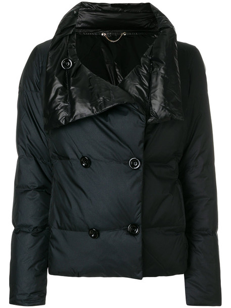 jacket double breasted women black
