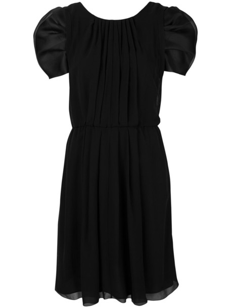 GIORGIO ARMANI dress women black silk