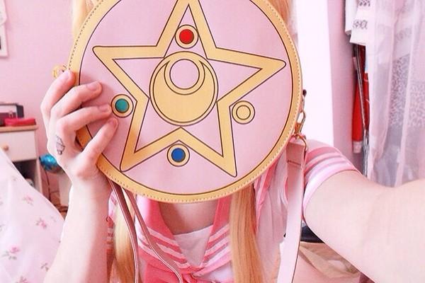 bag sailor moon anime cosplay pink japanese japanese kawaii
