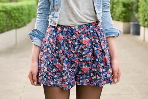 skirt floral shorts colorful shirt t-shirt jacket jeans cardigan summer cute fall outfits