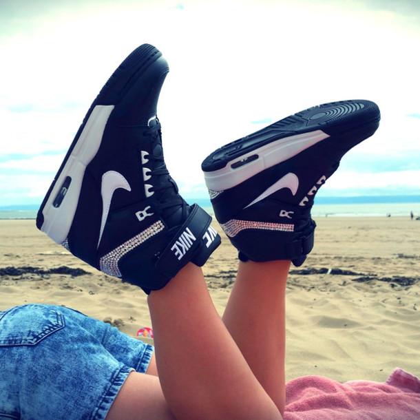 shoes nike nike revolution sky high shoes sky hi wedges wedge sneakers  sneakers wedge sneakers trainers d9bf39f018ee