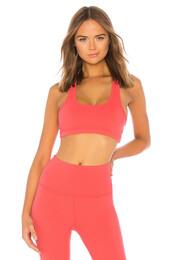 bra,sports bra,coral,underwear