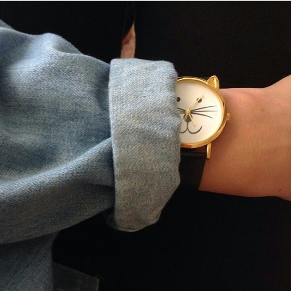 cats jewels watch