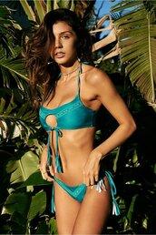 swimwear,bikini bottoms,bikini,turquoise