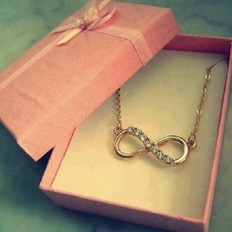 jewels infinity necklace necklace infinity
