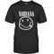Nirvana smile logo t-shirt - teenamycs