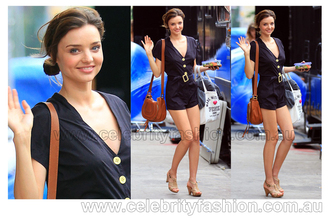 romper girl cool style girly clothes beautiful miranda kerr celebrity fashion summer outfits summer romper outfit