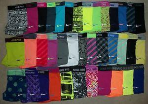 "Nike Pro Core Essential Compression Shorts 2.5"" (1-Pair) Spandex Yoga Tights   eBay"