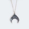 Southwest crescent necklace by muses & rebels | eu.fab.com