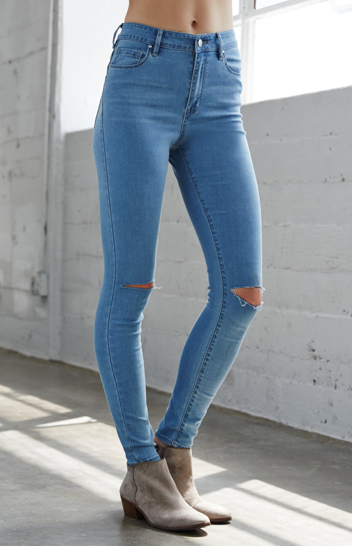denim co skinny jeans - Jean Yu Beauty