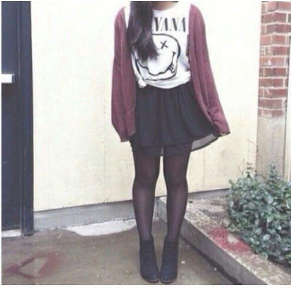 nirvana nirvana t-shirt