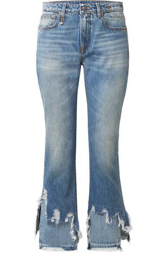 jeans denim cropped