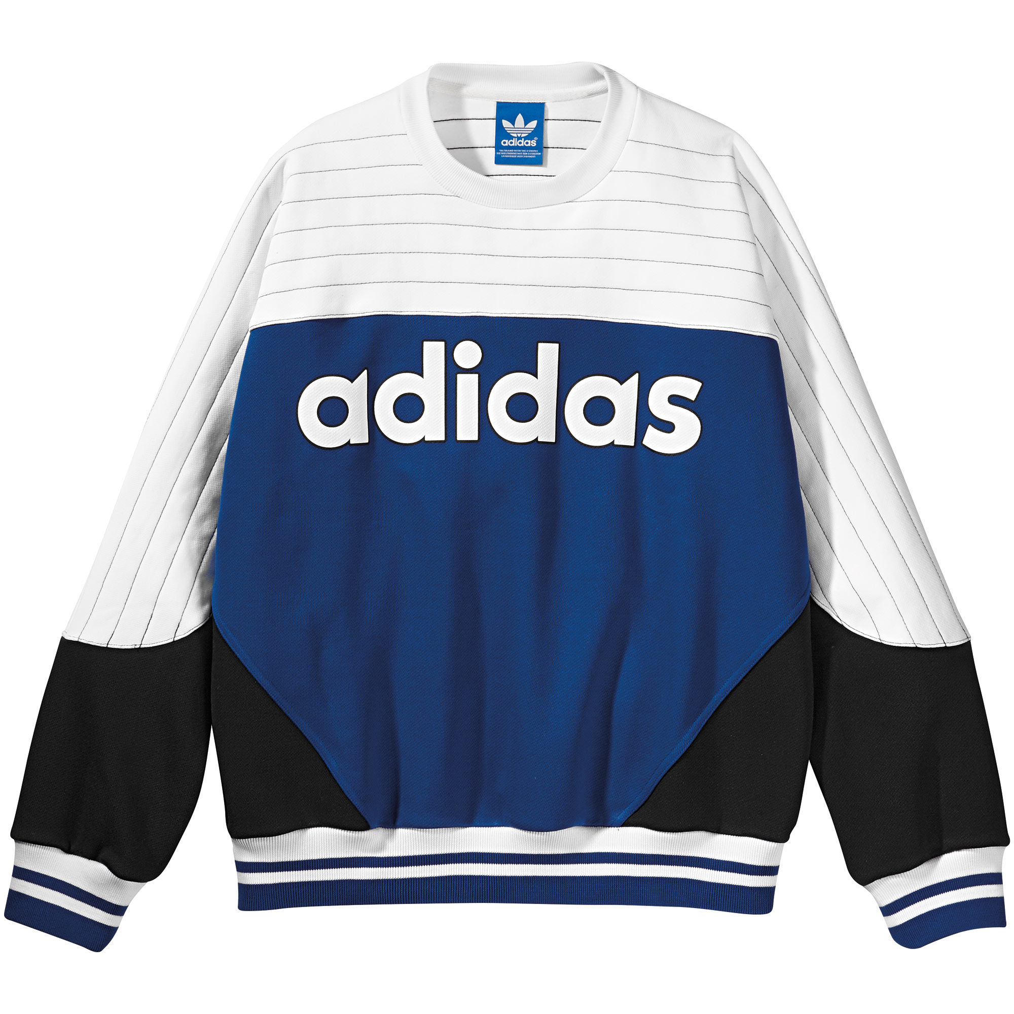 adidas nigo blocked crew sweatshirt adidas uk. Black Bedroom Furniture Sets. Home Design Ideas