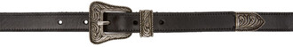 western belt belt leather black black leather