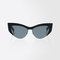 Cat-eye sunglasses, black - lina1 max mara