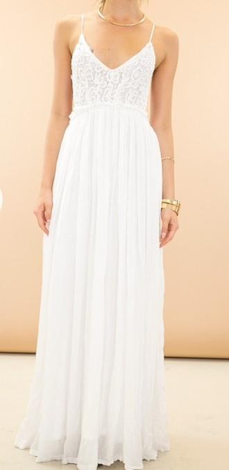 dress crochet backless v neck ball dress ball gown floor lenth dresses