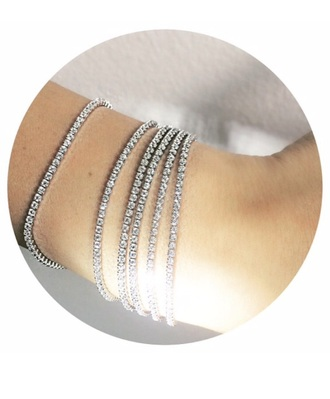 jewels bracelet stacking swarovski tennis bracelet jewells celebrity style kardashians bridesmaid