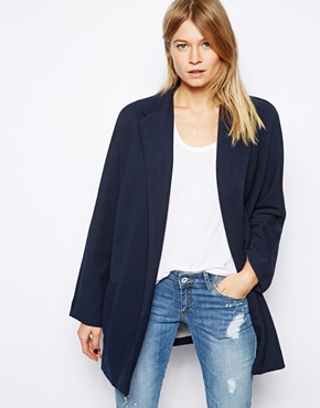 Mango | Mango Lightweight Boyfriend Coat at ASOS