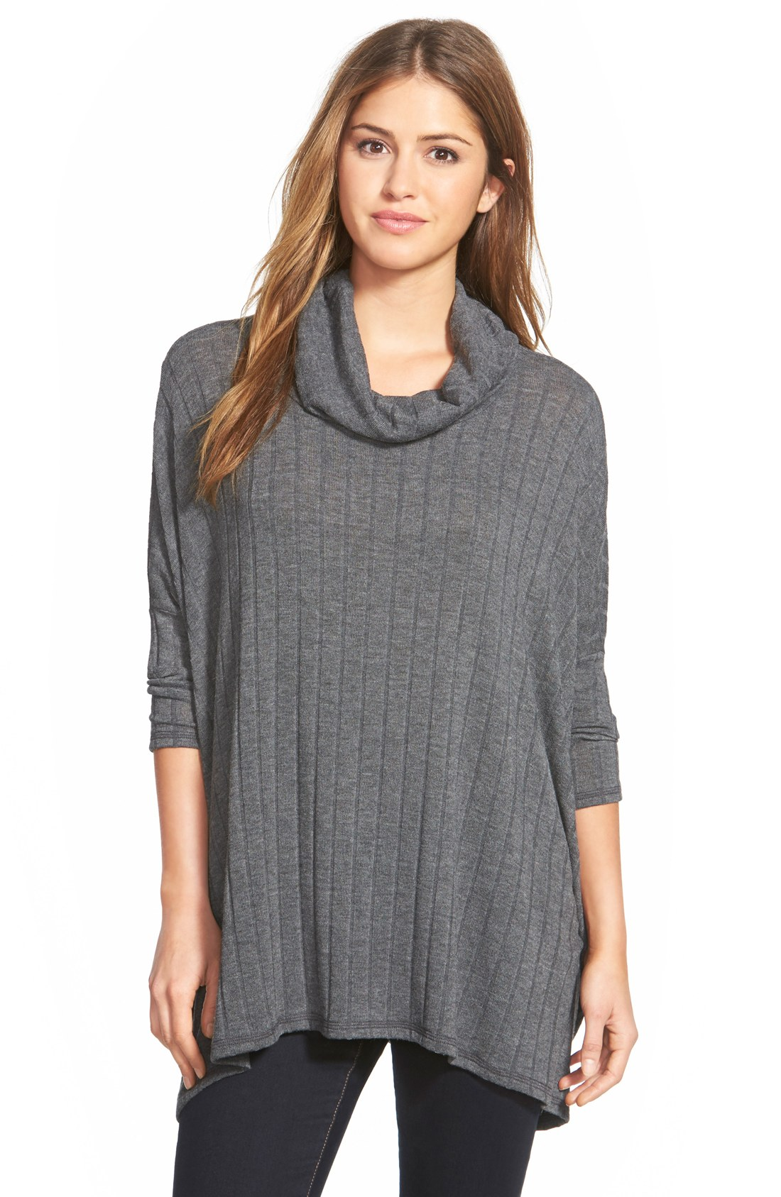 Cowl Neck Swing Sweater | Nordstrom