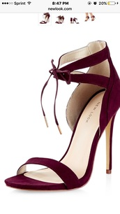 shoes,high heel sandals,burgundy,high heels