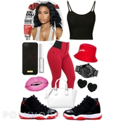 sweater,nicki minaj crew neck,crewneck,jordans,pants,shoes,make-up