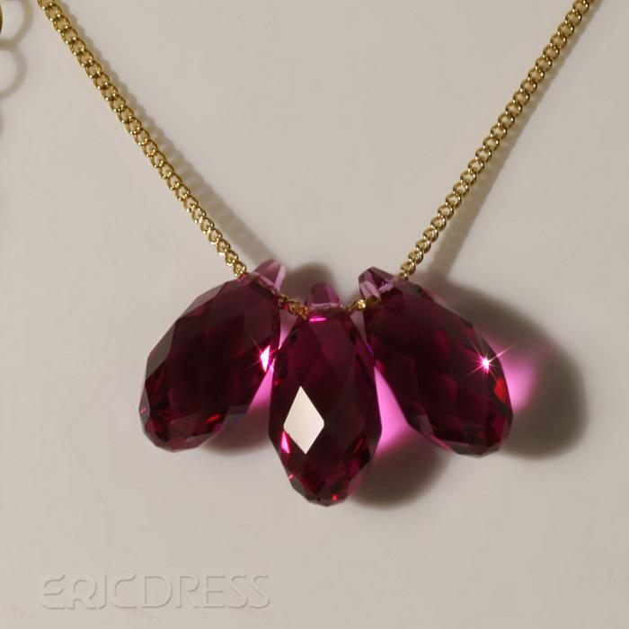 Amazing Venus Teardrop Crystal Necklace Necklace- ericdress.com 10536171