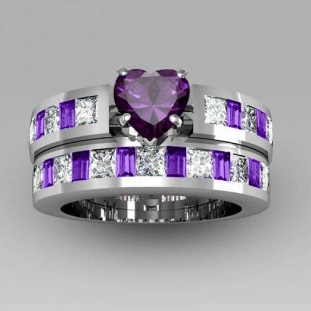 Jewels Fashion Ring Set 2015 White Gold Fashion Ring Set
