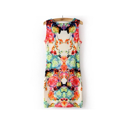 Floral Print Dress   Forever Mint   Online Store Powered by Storenvy