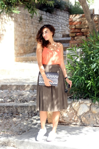 samieze blogger skirt top bag