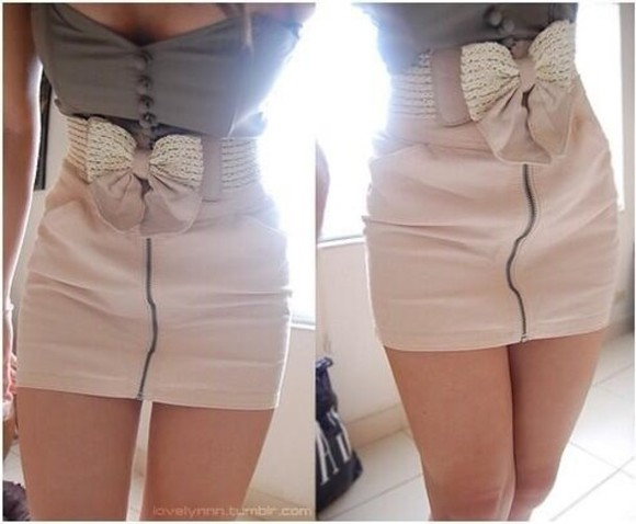 bow skirt blouse fashion must have party