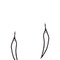 Maha lozi women`s just breathe earrings