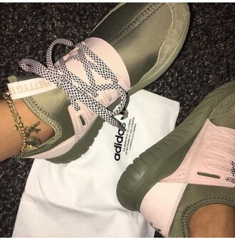 shoes adidas khaki trainers sneakers green sneakers