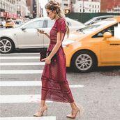 dress,red dress,lace dress,mesh dress,beautiful,burgundy dress,stunning burgundy outfit,burgundy,midi dress,hoodie,ysl,ysl bag,wedding dress,maxi dress,classy