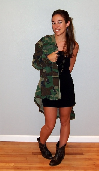 jacket military style boots mini grunge goth hip hop camo jacket army green jacket tan long hair petite summer fall outfits 2015 fit baggy military coat camouflage brunette loose oversized