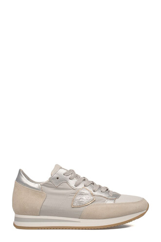 suede sneakers light sneakers silver suede shoes