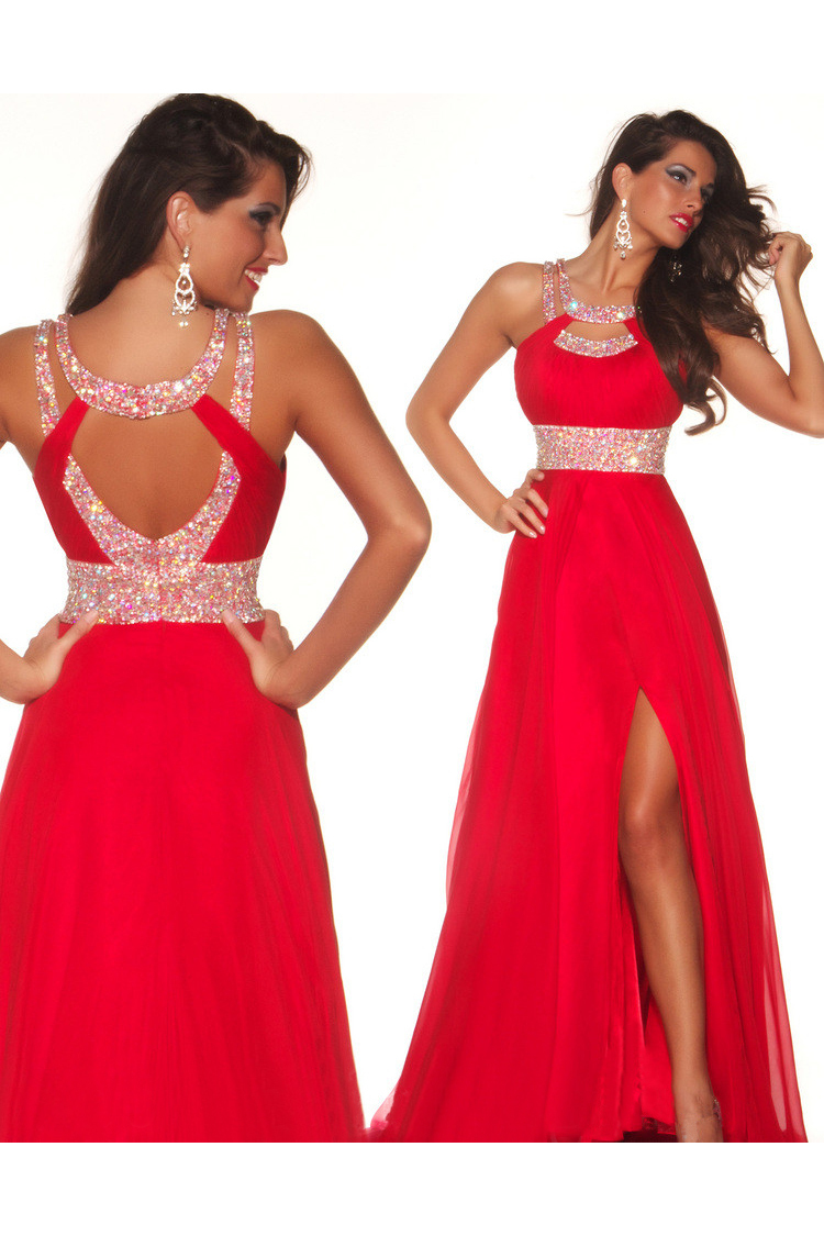 Red Prom Dresses 2014