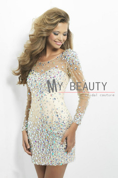 Aliexpress.com : Buy Vestidos De Noiva 2014 Sexy Backless Long Sleeves Sheer Lace Mermaid Wedding Dresses Satin Bridal Weddings & Events Gowns from Reliable dresses for mother of the groom suppliers on 27 Dress