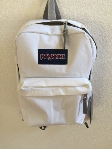 Superbreak Backpack White Limited Ed 1550 Cubic Inches | eBay