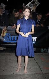pumps,blue dress,dress,shoes