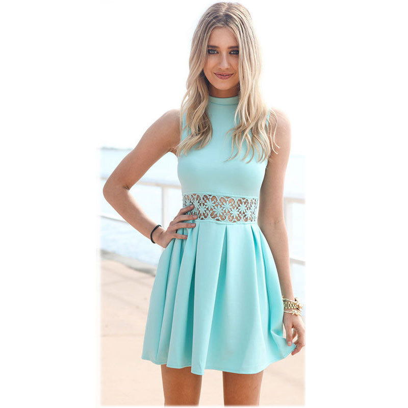 Fashion hot hollow out dress