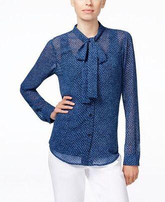 blouse top shirt macys clothes