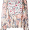 See by chloé - multi floral blouse - women - viscose - 40, pink, viscose