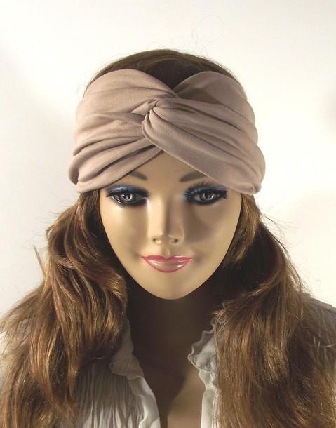 Scarf Headband Clothes Head Scarf Jersey Headband
