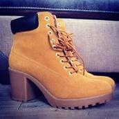shoes,heels,timberland heels,timberlands