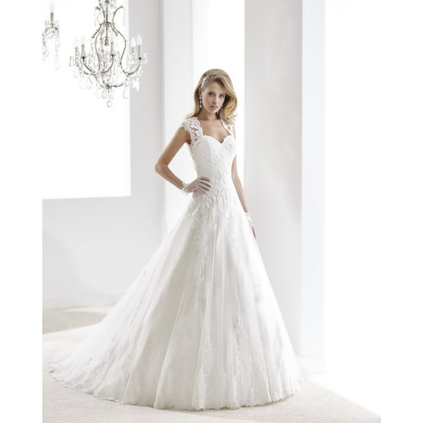 dress, corazon de maniqui, largo, vestidos de novia - wheretoget