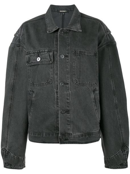 yeezy jacket women cotton blue