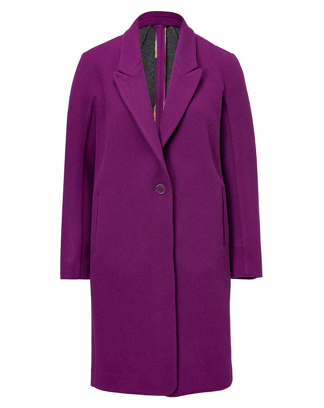Wool Peaked Lapel Coat from ETRO | Luxury fashion online | STYLEBOP.com
