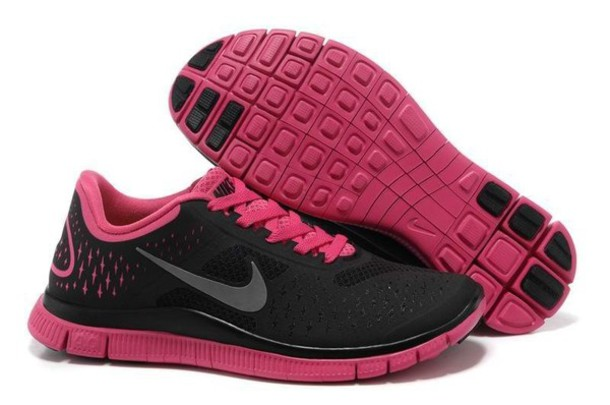 shoes hot pink nike shoes neon pink nike free run edit tags